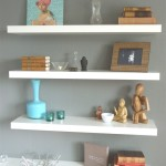 White Wood Wall Shelves