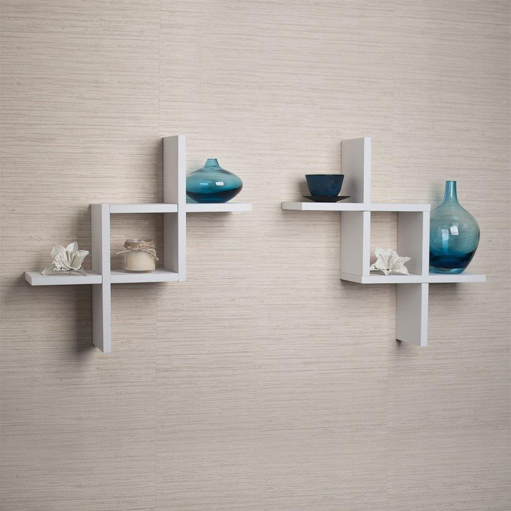 Wide Floating Shelves