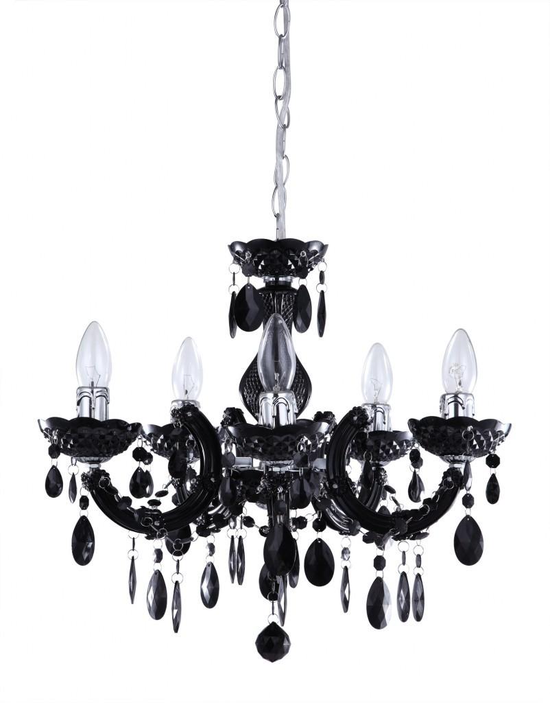 Black Chandelier Table Lamp