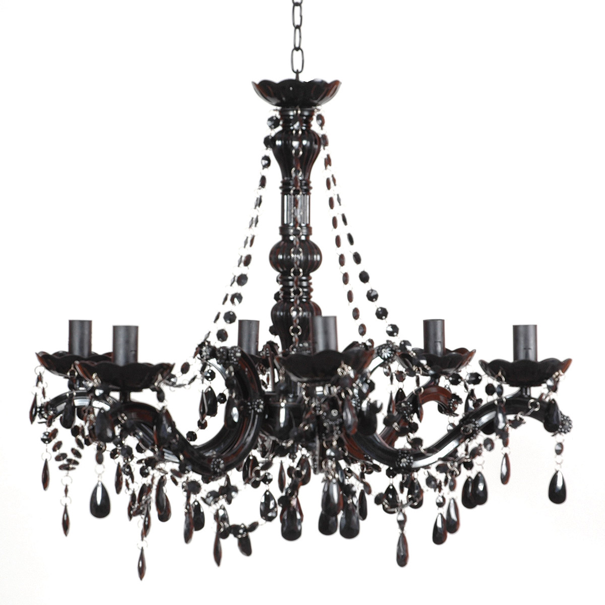 Black Chandelier – a Charming Way to Light Your World ...