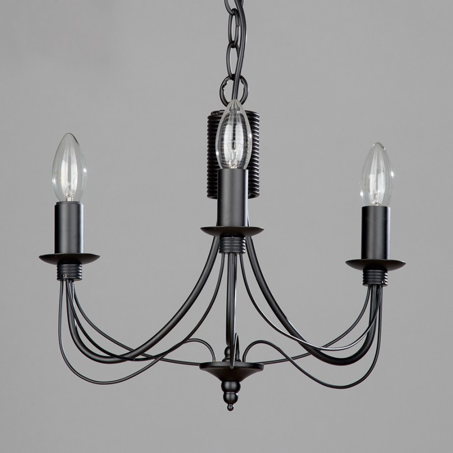 Black Metal Chandelier
