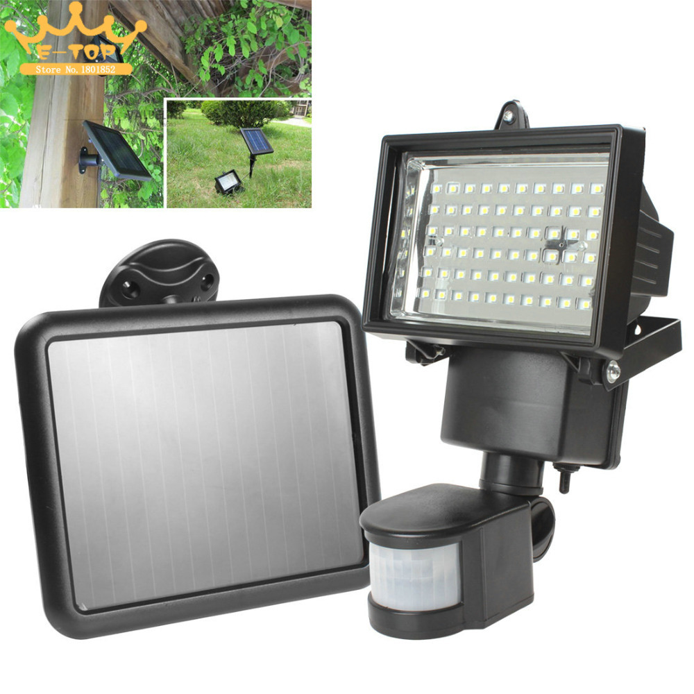 Solar Powered Outdoor Flood Lights