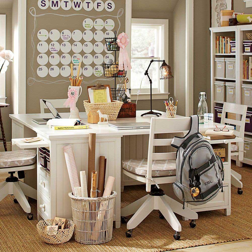 Girls Bedroom Desk