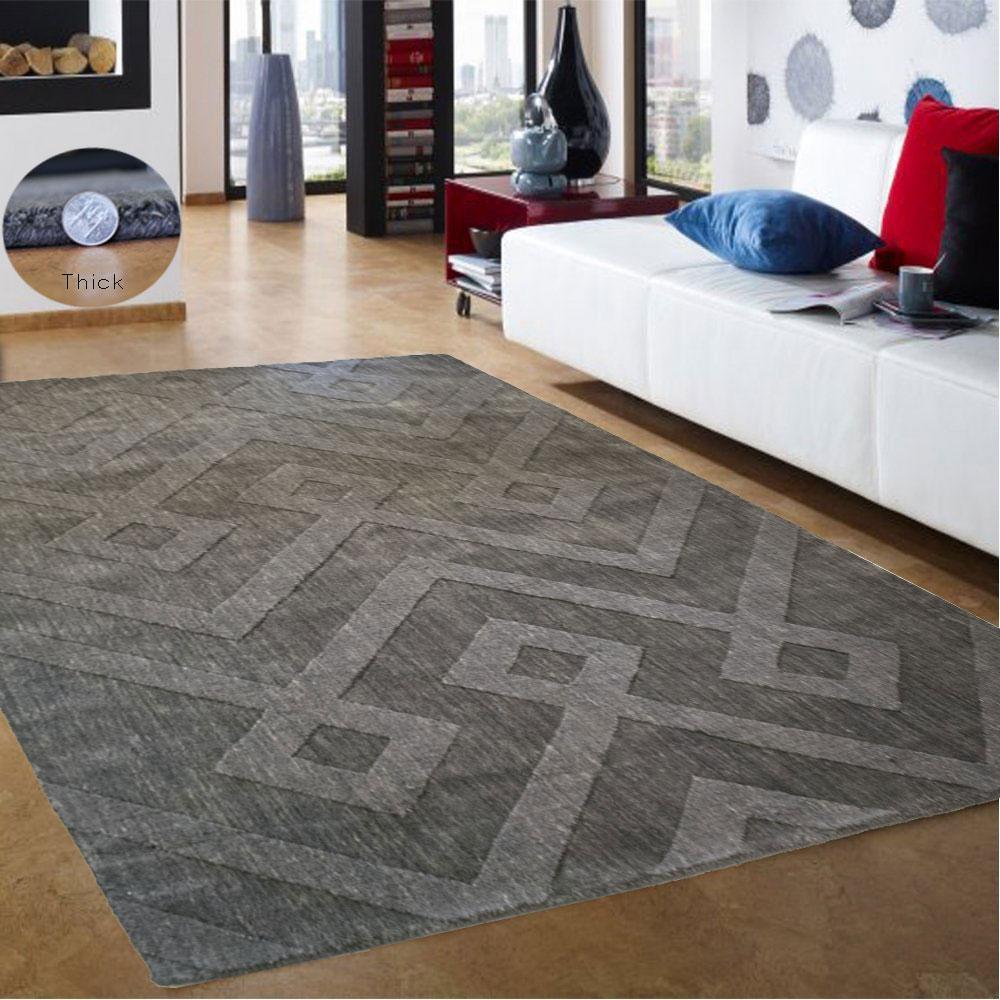 Modern Wool Area Rugs