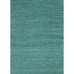 Solid Blue Area Rug