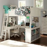 White Bedroom Desks