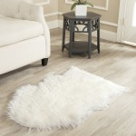 White Fur Area Rug