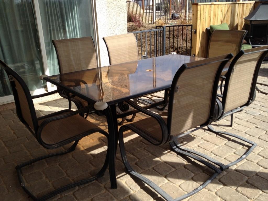 6 Chair Patio Set