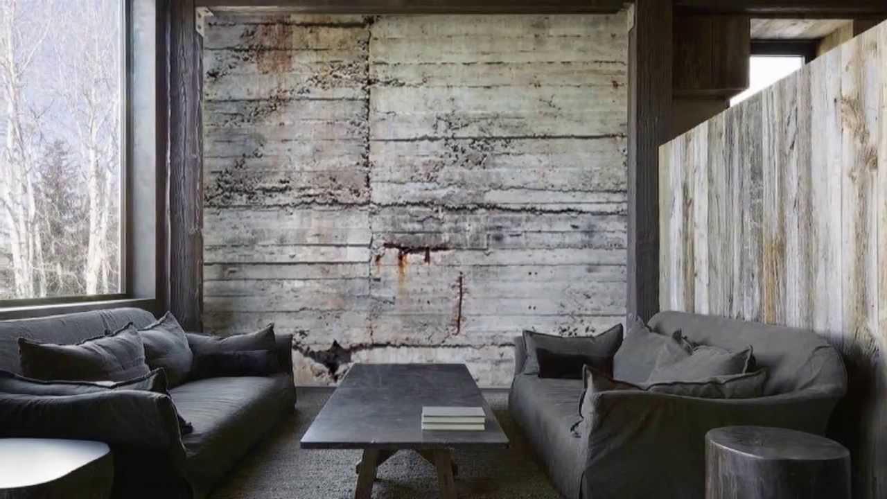 Concrete Wall Covering Decor Ideas