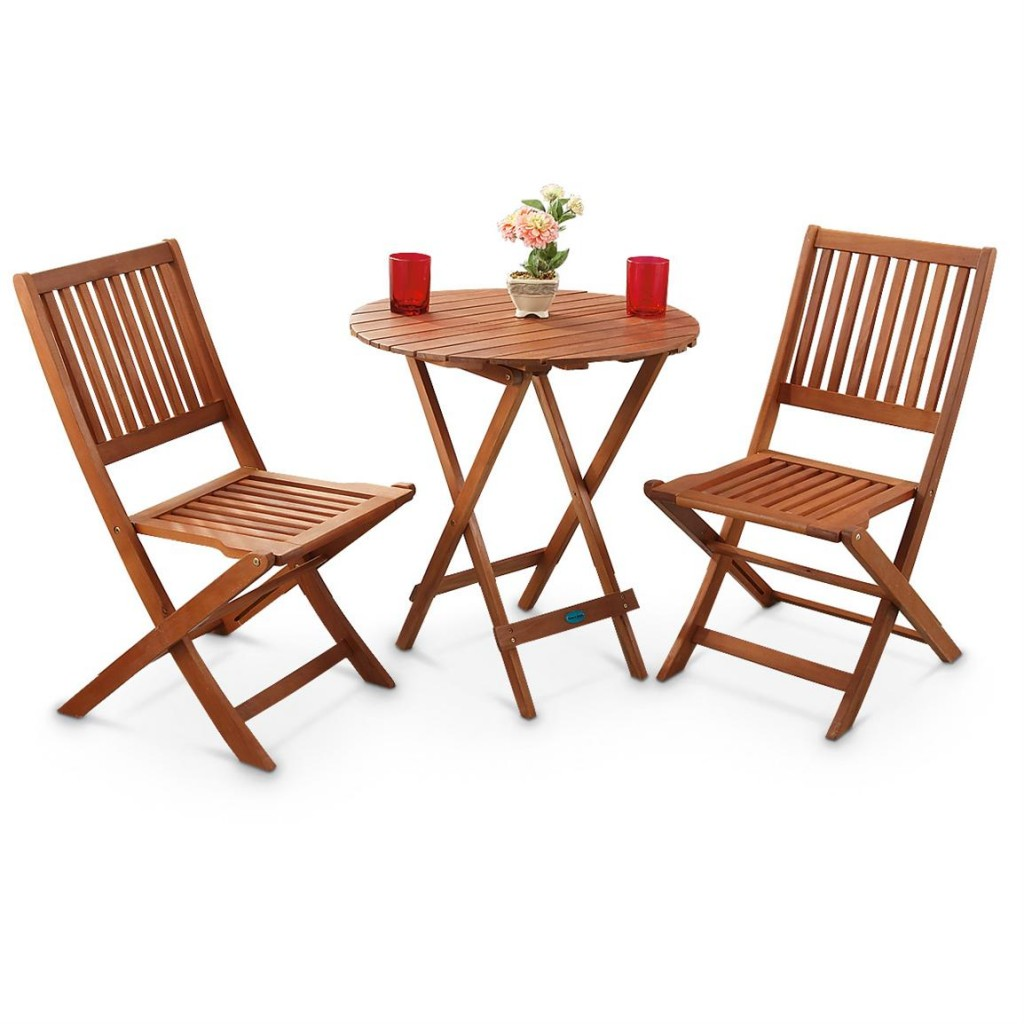 Folding Patio Table And Chair Set