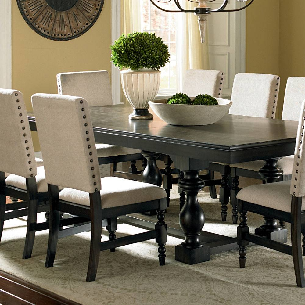 Glass Top Dining Room Table And Chairs