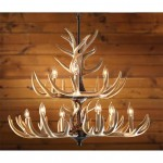 Outdoor Antler Chandelier