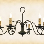 Outdoor Iron Chandelier