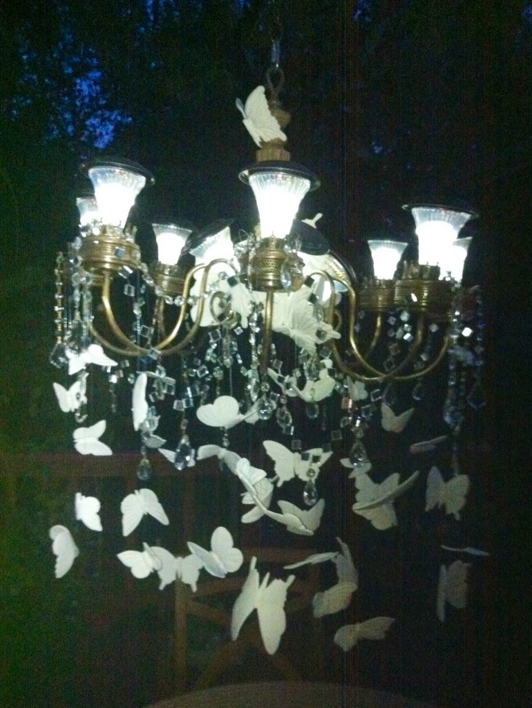 Outdoor Solar Chandelier