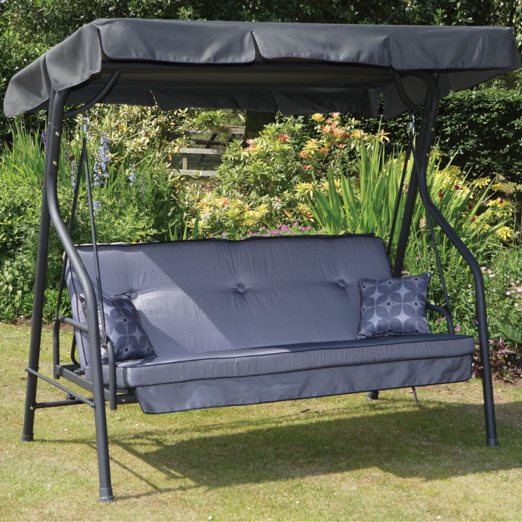 Outdoor Swing Bed With Canopy Decor Ideas