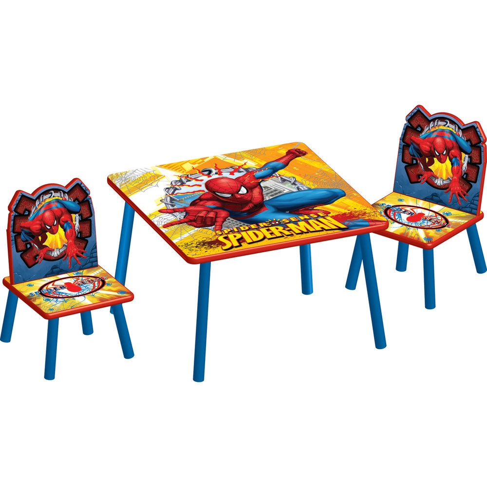 Spiderman Table And Chair Set
