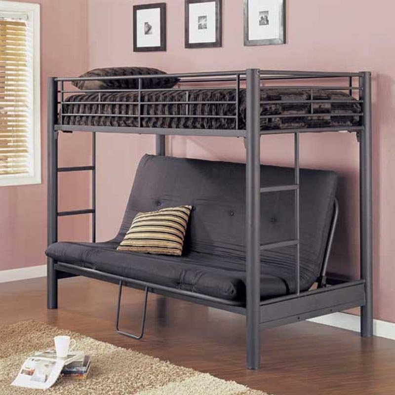 Futon Bunk Bed With Mattress