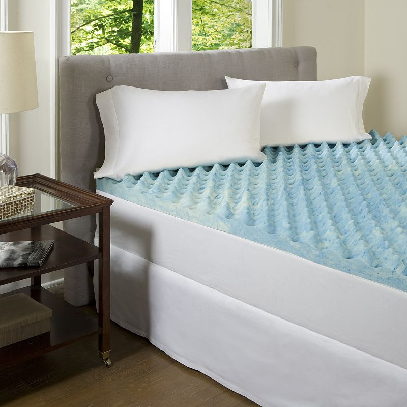 King Size Gel Memory Foam Mattress Topper