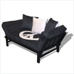Mainstays Metal Arm Futon With Mattress
