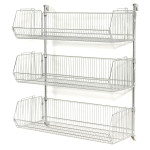 Nexel Chrome Wire Shelving