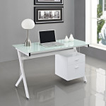White Computer Table