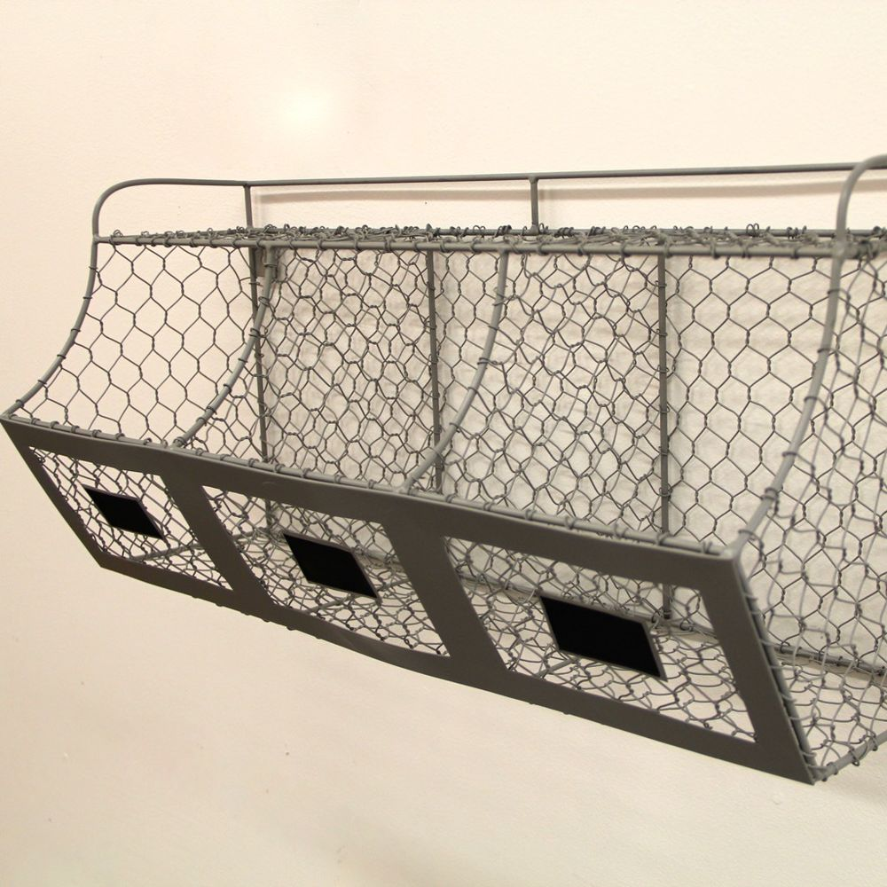 Wire Basket Shelves