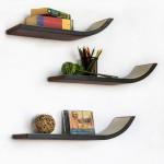 Wooden Floating Shelves