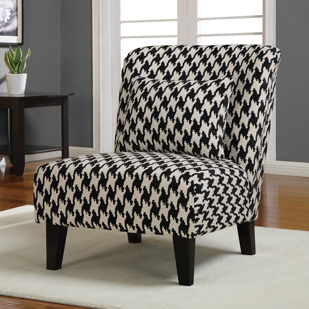 Black And White Accent Chair Decor Ideasdecor Ideas