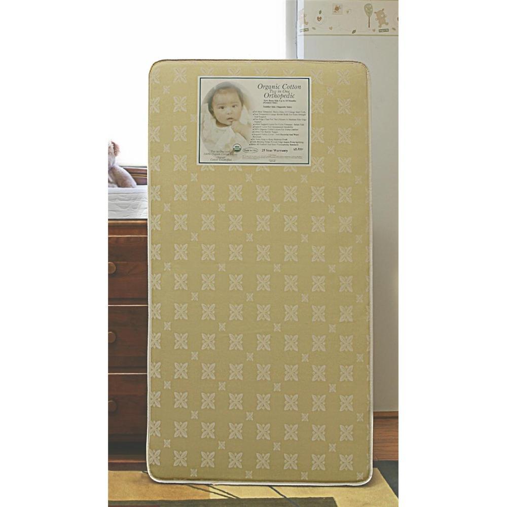 La Baby Organic Crib Mattress