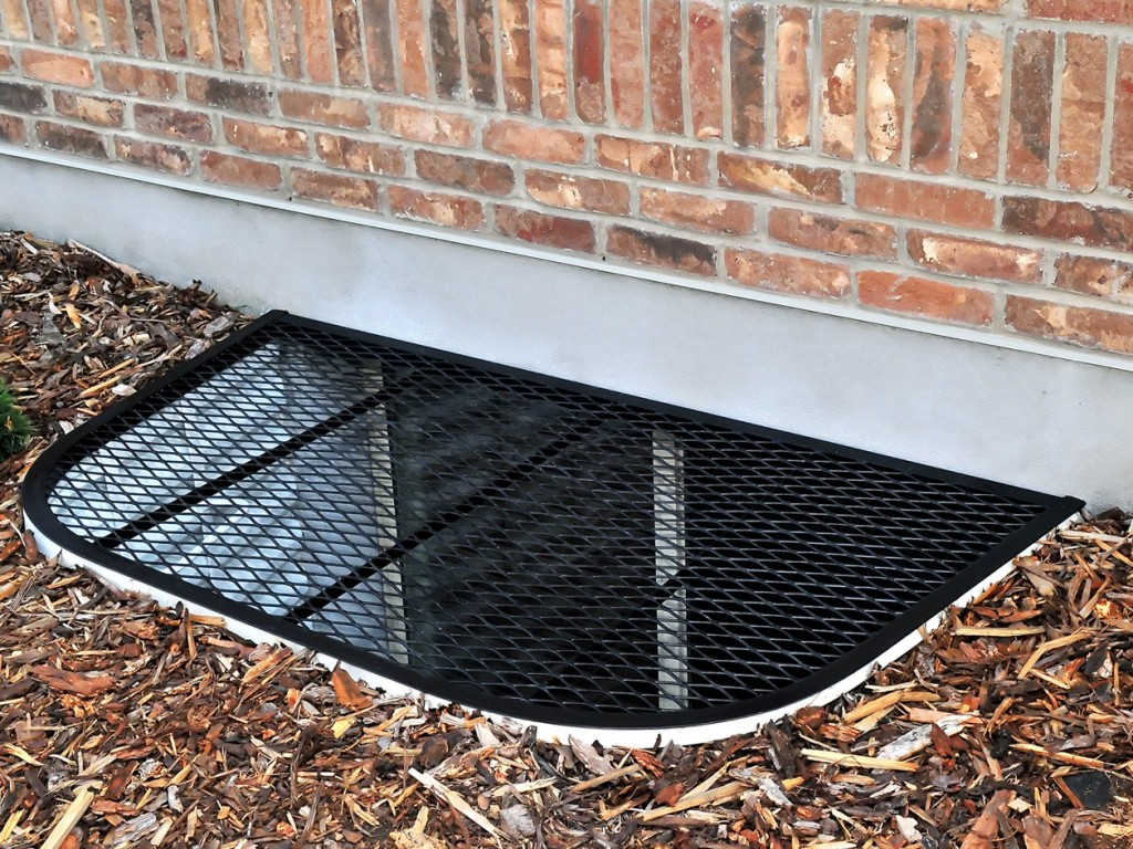 Metal Grate Window Well Covers