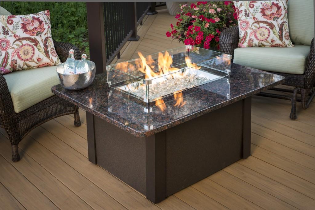 Patio Furniture Fire Pit Set