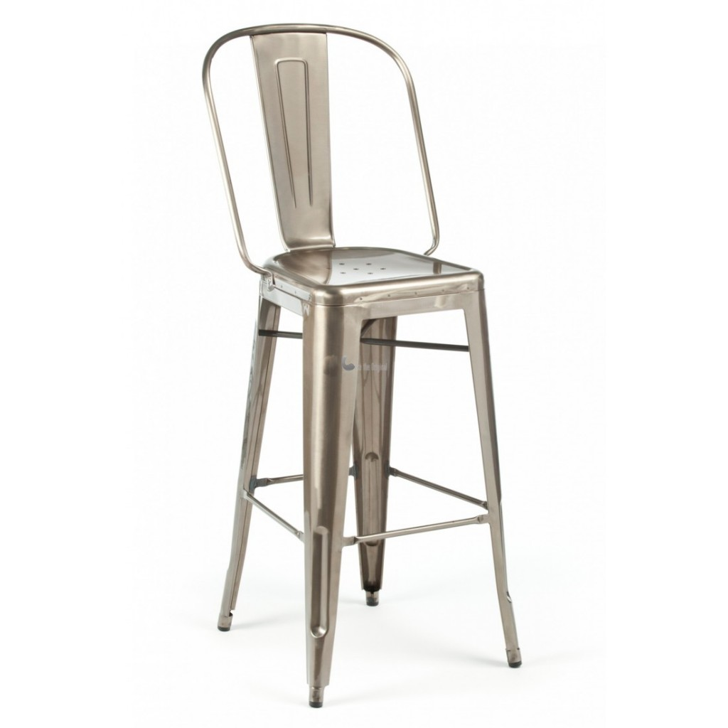 Silver Accent Chair