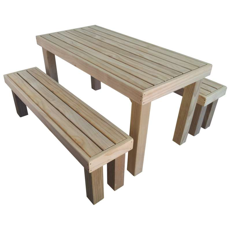 Wooden Patio Furniture Sets