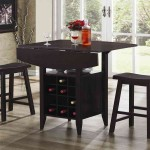 Pub Table And Chairs 3-Piece Set