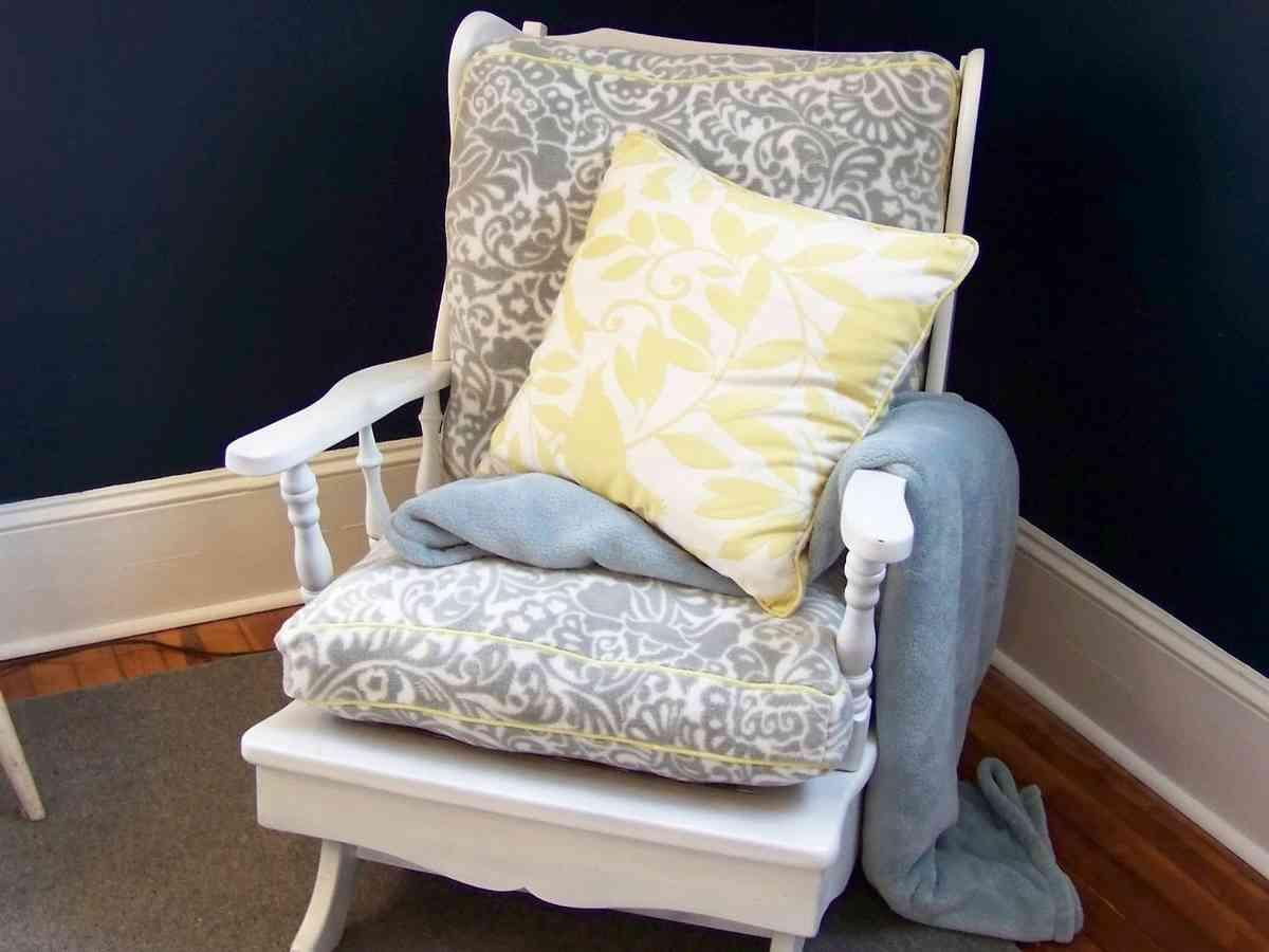 Rocking Chair Cushion Sets For Nursery Decor Ideas