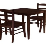 Two Chair Dining Table Set