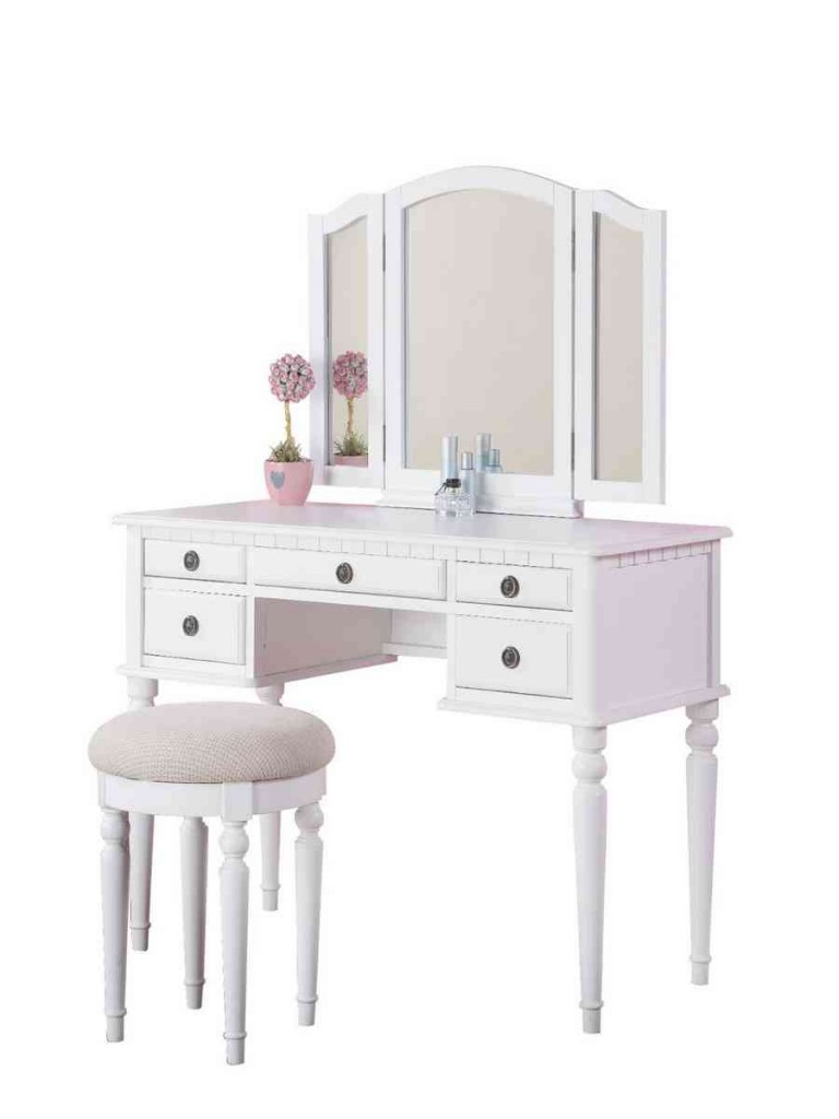 Vanity Table And Chair Set
