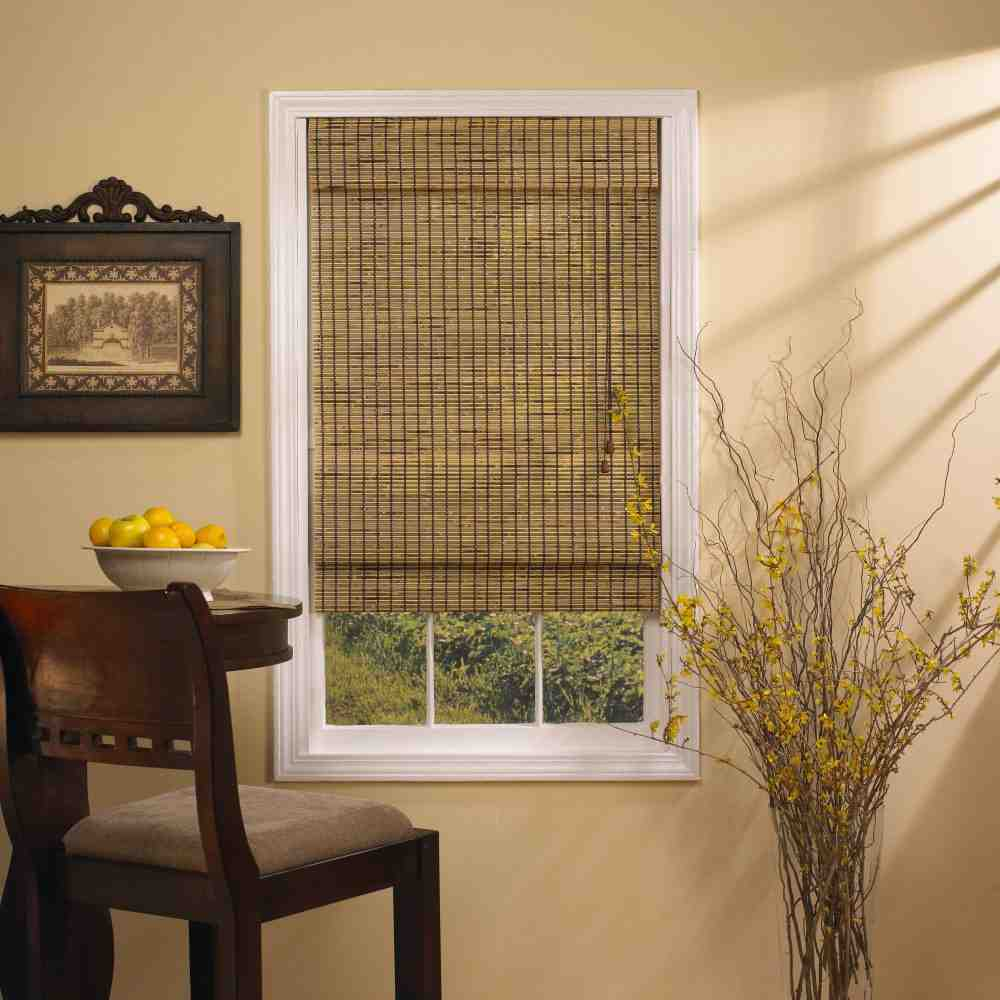 Bamboo Blinds Lowes Decor Ideas