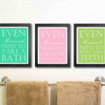Bathroom Wall Art and Decor