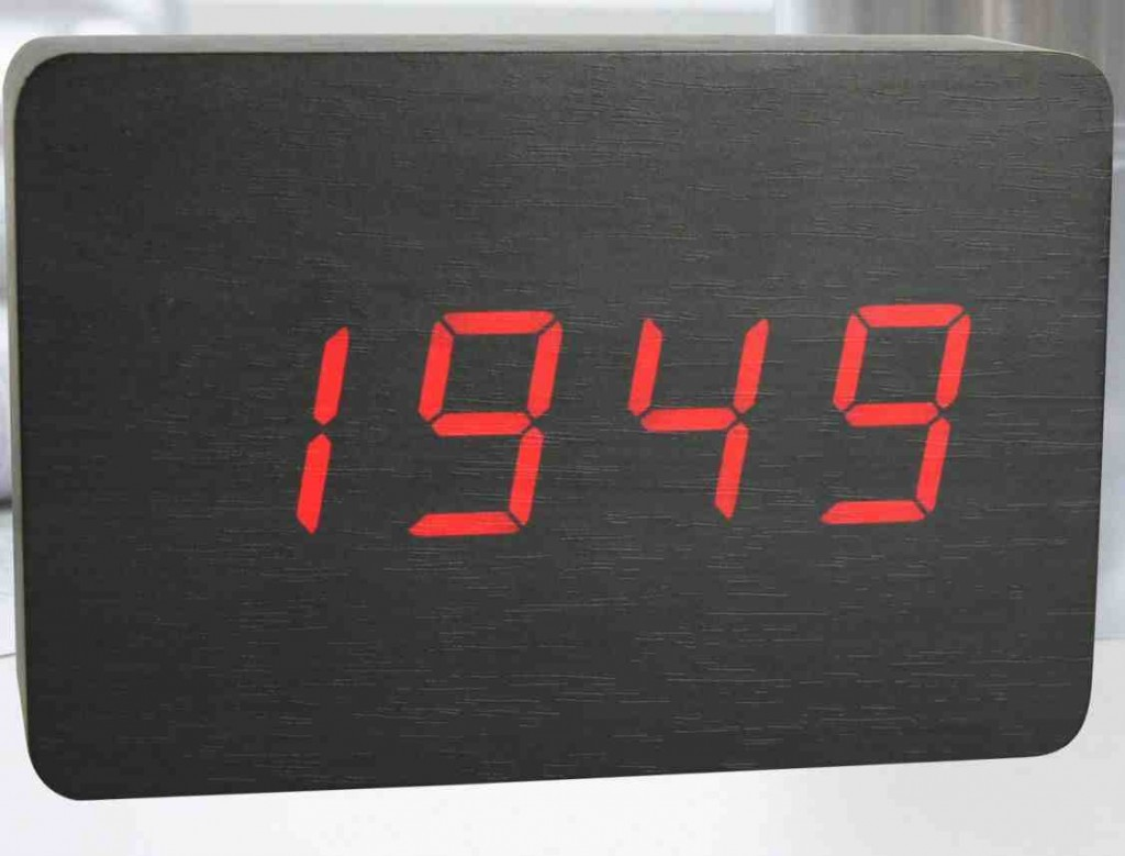 Battery Powered Digital Wall Clock