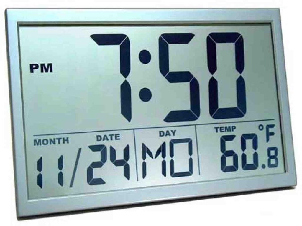 Best Digital Wall Clock