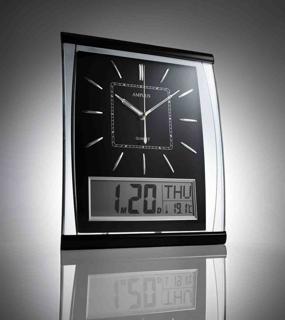 Big Digital Wall Clock
