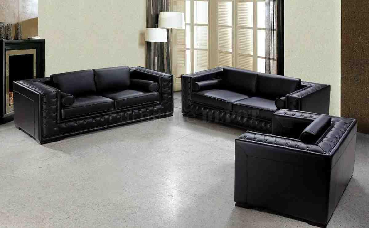 black leather living room set  decor ideas