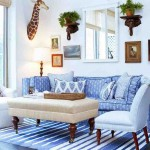 Blue Living Room Rug