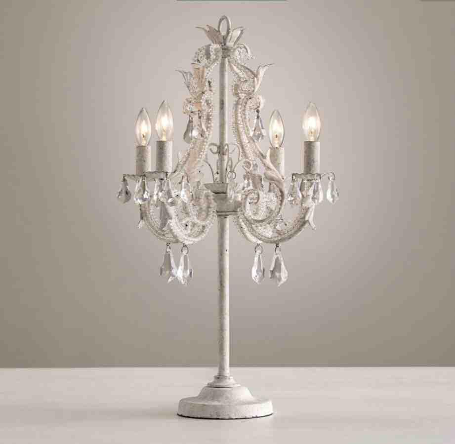 Chandelier Bedside Lamps