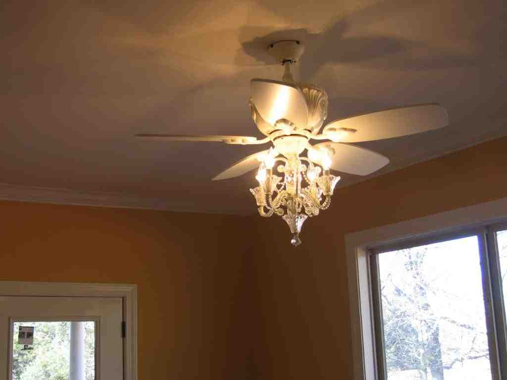 Chandelier Ceiling Fan Combo Decor Ideas