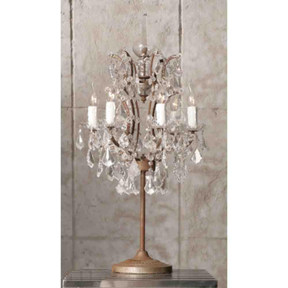 Chandelier Desk Lamp