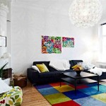 Colorful Living Room Rugs