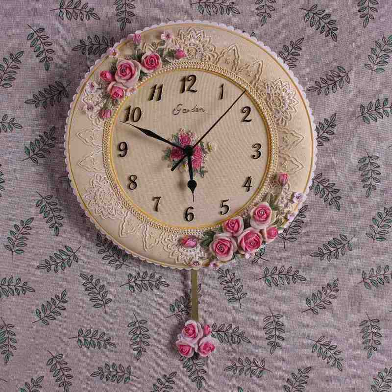 Decorative Bathroom Wall Clocks