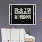 La Crosse Atomic Digital Wall Clock